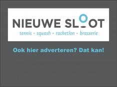 Word sponsor van Nieuwe Sloot!