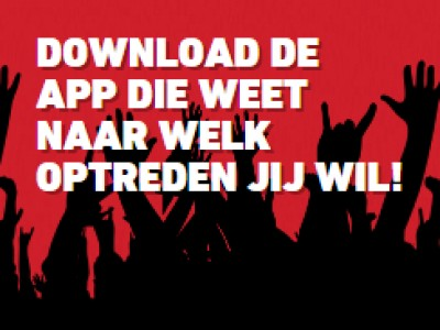 Download de Jupiler Poppodia app!