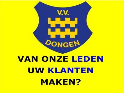 Word sponsor van VV Dongen