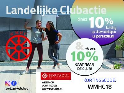 CLUBACTIE Kortingscode: WMHC18
