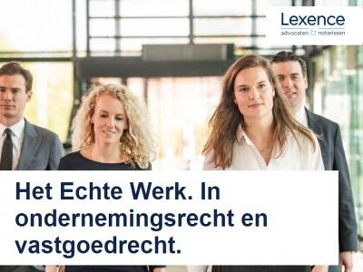 Lexence: Het echte werk