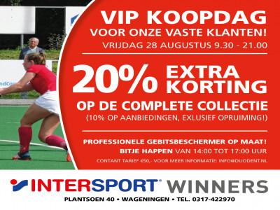 VIP KOOPDAG