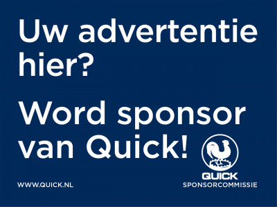 Word sponsor van Quick!