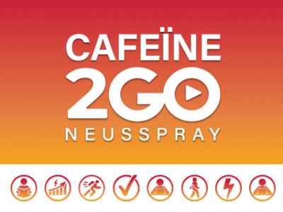 Caf2GO. De Cafeïne Energie Boost