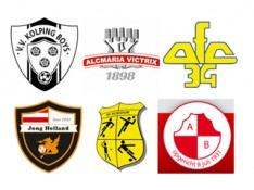 Bereik alle voetballers in Alkmaar