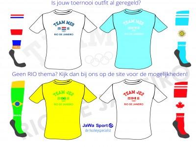 Toernooi shirts