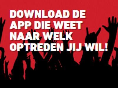 Download de Jupiler Poppodia app!