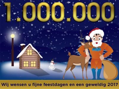 1.000.000 gecrowdfund!