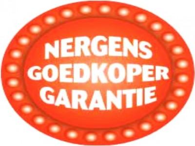 Nergens goedkoper garantie