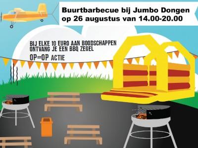 Buurtbarbecue bij Jumbo Dongen